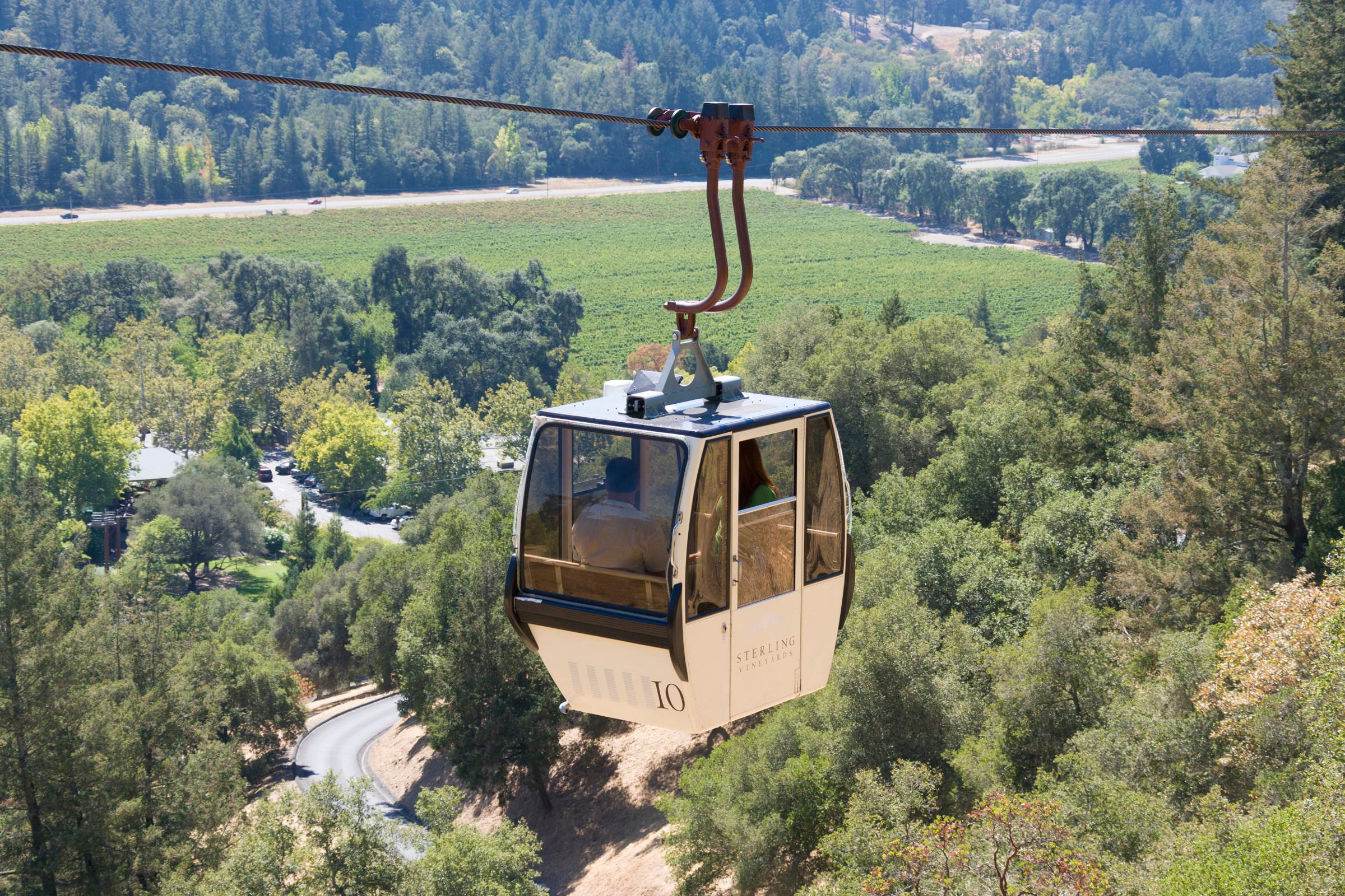 gondola at stirling vineyards