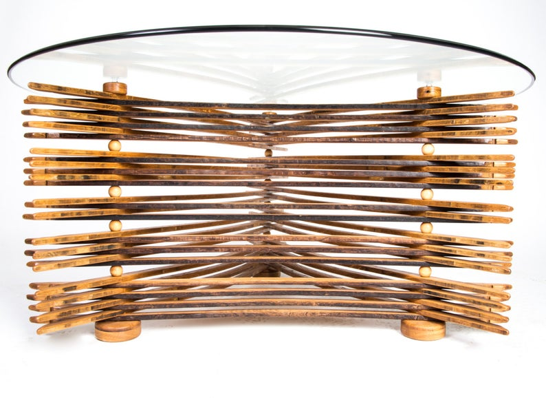 Thin Stave Coffee Table-2